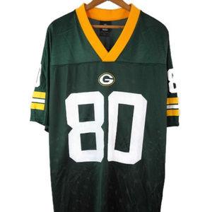 Reebok #80 Donald DRIVER Green Bay Packers Jersey